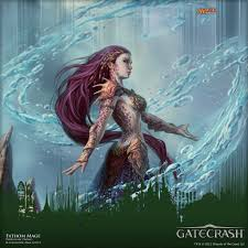 Mtg Sealed Deck Simulator by Wallpaper Of The Week Prerelease Promo Fathom Mage Magic The