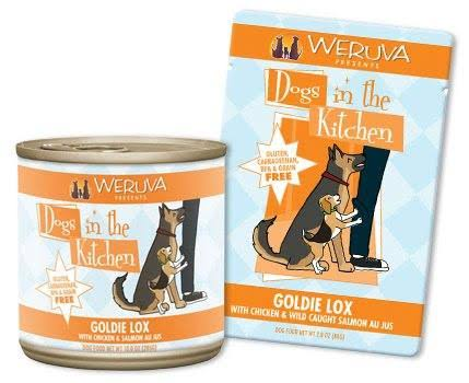 Weruva Dogs in The Kitchen Goldie Lox GrainFree Dog Food Pouch 2.8oz