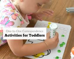 One To Correspondence Activities For Toddlers Teach Count And Identify