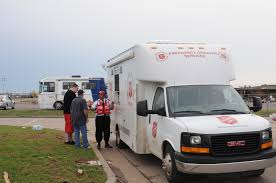 Salvation Army Disaster Services Truck At Disaster Site | FEMA.gov