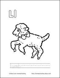 Letter L Coloring Book