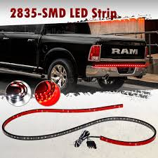 """Red/White 60"""" LED Tailgate Light Bar Reverse Brake Turn Signal ... Best Truck Bed Lights 2017 Partsam Amazoncom Genuine Ford Fl3z13e754a Led Light Kit Rear Rugged Liner F150 With Cargo Without How To Install Cabin Switch Youtube Fxible Strip Truck Bed Lights F150online Forums 8 White Rock Pods Lighting Xprite 60 2 Strips Rail Awning Truxedo Blight Tonneau System Free Shipping 200914 Ingrated Full F150ledscom Magnetic Under The Lux Systems Led For Of Decor Kit Chevyoffroading"""