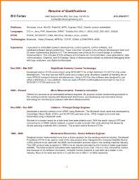 Resume Key Qualificationsresume Examples Qualification In Sample Qualifications On