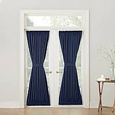 Bed Bath And Beyond Curtains Blackout by French Door Curtains Bed Bath U0026 Beyond