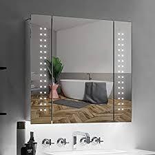 tokvon galaxy 65x60cm spiegelschrank led badezimmer