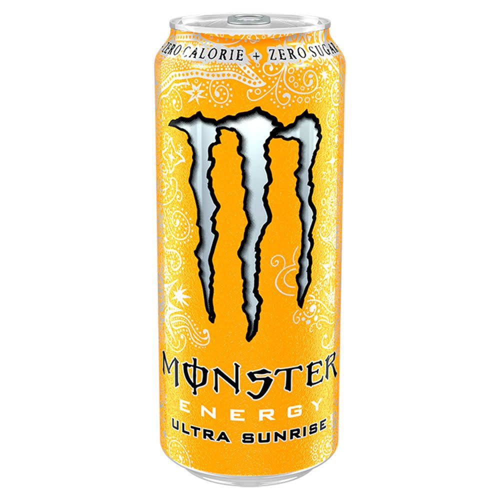 Monster Energy Ultra Sunrise Soda - 500ml