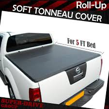 100 Truck Bed Covers Roll Up Details About Premium Lock Tonneau Cover For 20052019 Nissan Frontier 5 FT 60