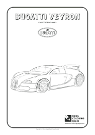 Cool Coloring Pages Vehicles Page Bugatti Print Free Printable Online Full Size