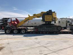 Over Dimensional Freight Shipping! Hauling The Komatsu XT430 L-3 ...