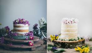 Crumb Coated Naked Cakes By Linda Lomelinose Left And Beth Kirby Via Local