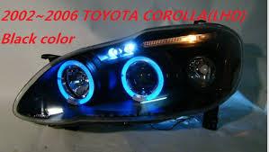 taiwan made free ship 2014 2016 toyota corolla headlight with bi