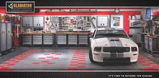Gladiator Garage Roll Flooring by You Can Create Whatever Pattern You Desire Perfection Floor Tile