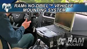 RAM® Mounts No-Drill™ Vehicle Mounts For Laptops & Tablets - YouTube Vehicle Laptop Desks From Rammount Mobotron Mount 1017 Laptoptablet Suvs Trucks Tablet Keyboard Accsories Ram Mounts Adapter With Pro Mongoose Mounting Bracket For Chevy Nodrill Freightliner Car Truck Gps Computer Stand Table Ebay Printer All The Best In 2018 Amazoncom Heavy Duty Auto