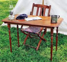 civil war folding table plans furniture plans and projects