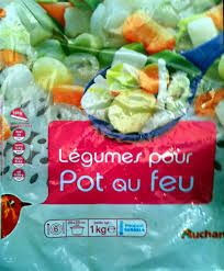 légumes pour pot au feu auchan 1kg