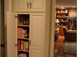 Stand Alone Pantry Cupboard by Kitchen Pantry Cabinets Freestanding Ellajanegoeppinger Com