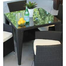 Shop Square Black Wicker Dining Table Topped With Glass - On Sale ... Decor Market Siesta Wicker Side Chairs Black Finish Hk Living Rattan Ding Chair Black Petite Lily Interiors Safavieh Honey Chair Set Of 2 Fox6000a Europa Malaga Steel Ding Pack Of Monte Carlo For 4 Hampton Bay Mix And Match Stackable Outdoor In Home Decators Collection Genie Grey Kubu 2x Cooma Fnitureokay Artiss Pe Bah3927bkx2 Bloomingville Lena Gray Caline Breeze Finnish Design Shop Portside 5pc Chairs 48 Table