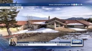 100 Homes For Sale In Nederland 7500 Magnolia Dr CO For Coloradohomescom