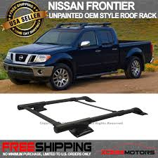 100 Frontier Truck Accessories For 0517 Nissan 4DR OE Style Roof Rack Cargo Carrier