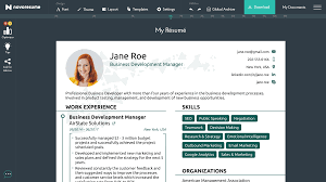 Resume Builder For 2019 | Free Resume Builder | Novorésumé Azw Descgar 97 Acting Resume Maker Free Online Builder Design A Custom In Canva Banking Infographic Build Rumes Best Microsoft Word 36 Templates Download Craftcv Resumecom Steemhunt Cv Creative To Make An 2019 The Why Should I Use Advantages Disadvantages 12 Websites Perfect Enhancvcom