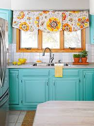 Subway Tile Backsplash Turquoise Kitchen CabinetsAqua KitchenTeal