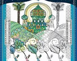 Arabian Nights Sleepless Night Of Coloring Book For Adult Japanese Persian Arab