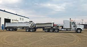 100 End Dump Trucking Companies Load Line Tandem Side Lead With Tandem TRAILERS
