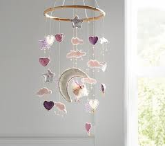 heart and star ceiling mobile do you know whats easy to make