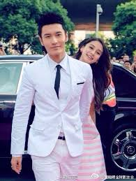 Happy Chinese Valentines Day From Huang Xiaoming And Angelababy