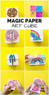 DIY Magic Paper Art Cube Get The Free Coloring Templates To Make This Mesmerizing That Transforms Fun Game Or Puzzle For Kids Video