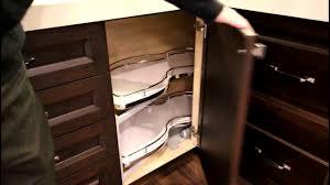 Blind Corner Kitchen Cabinet Ideas by Corner Cabinet Ideas Norcab Kitchen U0026 Millwork Youtube