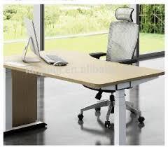 bureau à hauteur variable électrique table de bureau à hauteur variable design haut de gamme