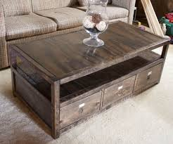 25 Unique DIY Coffee Table Ideas That fer Creative Style and