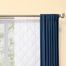 thermalogic rod pocket curtain liner season smart 3m thinsulate insulating curtain liner pair white