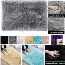 faux weiche flauschige teppich kunstpelz schaffell teppich
