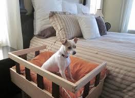 Bedside Platform Dog Bed korrectkritters