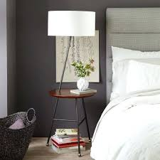 End Table With Attached Lamp by Table Lamp Table Lamp With Attached Reading Light Bedside Decor