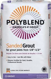 Polyblend Ceramic Tile Caulk Sanded by Polyblend Pbg38625 Sanded Tile Grout 25 Lb Bag No 386 Oyster