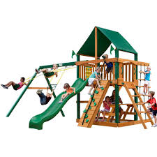 Parks, Playsets & Playhouses - Playsets & Recreation - The Home Depot Best Backyard Playground Sets Small Swing For Sale Lawrahetcom Playset Equipment Australia Houston Fun Fortress Playhouse Plan Castle Playhouse Wooden Castle And Plans Playsets Plans For Free Design Ideas Of House Outdoor 6station Heavy Duty Cedar 8 Kids Playsets Parks Playhouses The Home Depot Simple Diy Set All Tim Skyfort Ii Discovery Clubhouse Play Clubhouses Plays Tutorials