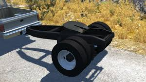 WIP Beta Released - Fifth Wheel Trailer Dolly | BeamNG