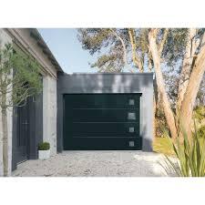 porte de garage sectionnelle motorisée artens premium h 200 x l