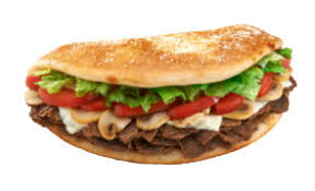 Steak Cheese Mushroom Sub