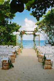 Outside Beach Wedding Decorations Green Peach And Gold Jupiter Resort