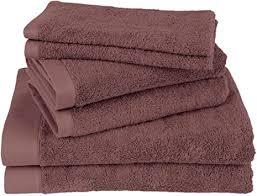 clarysse handtücher set 6 teilig badetücher set aus premium 100 gekämmter baumwoll hotelqualität badezimmer set belgische marke 500g m2 beere