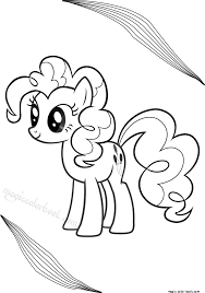 My Little Pony Coloring Pages Magic Color Book
