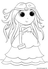 Kawaii Anime Coloring Pages K8