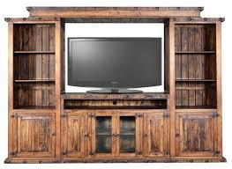 White Rustic Entertainment Center Furniture Centers