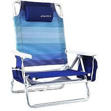 100 Nautica Folding Chairs Amazoncom Reclining Beach Chair With Insulated