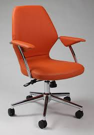 Orange And Black fice Chair Best puter Chairs For Throughout