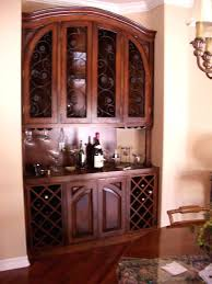 Built In Wine Cabinet Dining Room Custom Cabinets